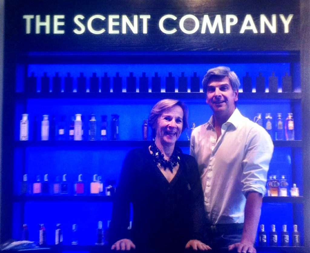 Robert & Liesbeth Helmer owners of The Scent Company