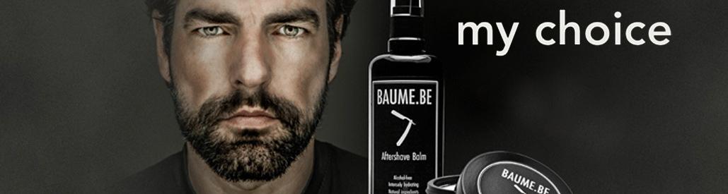 Baume, shaving man
