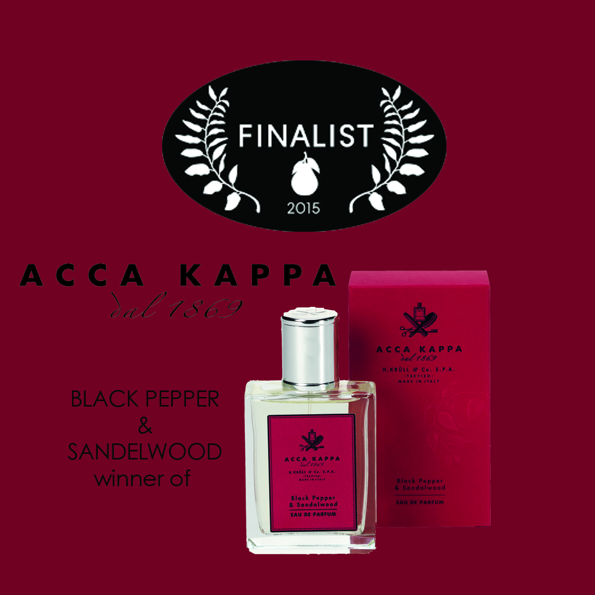 award acca kappa black pepper