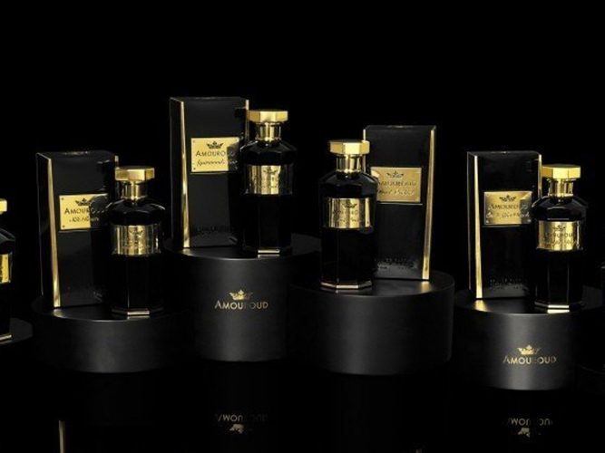 Amouroud Collection parfum with Oudh