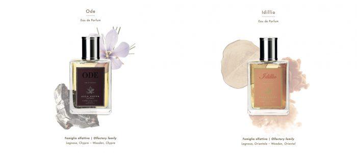 ACCA KAPPA Ode & Idillio parfum Italian