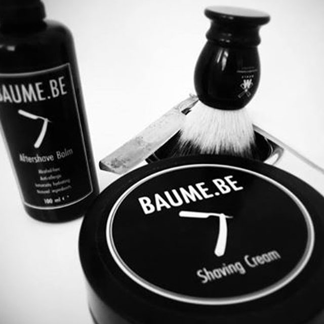 Baume.be Scheren voor de gevoelige huid