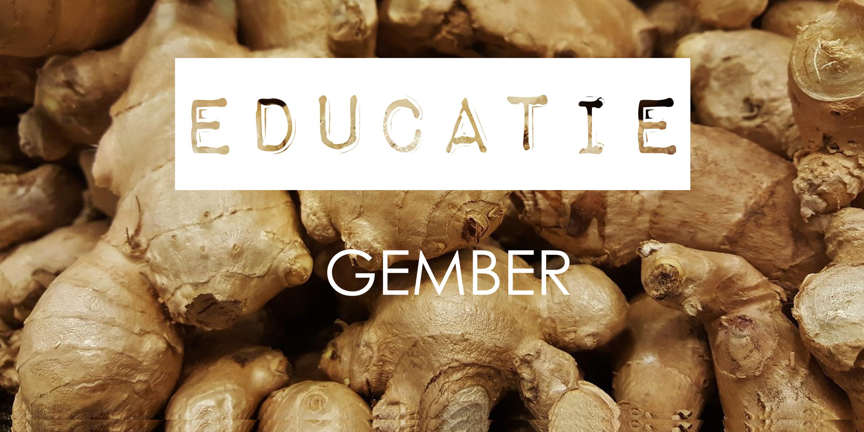 ingredient kennis gember parfum